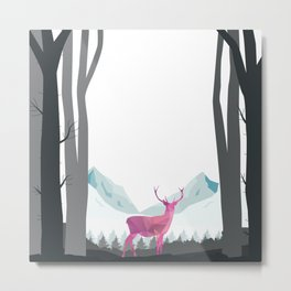 Magic in the Forest Metal Print