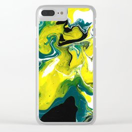 Renaissance /  An Illusion / Abstract Art by Peter Melonas Clear iPhone Case
