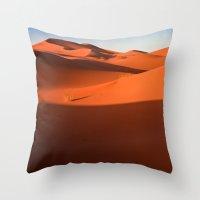 desert Throw Pillows featuring Desert by GF Fine Art Photography