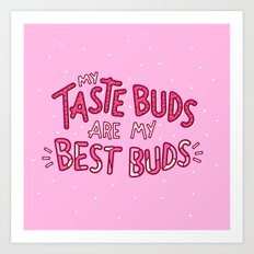 Taste Buds (V2) Art Print