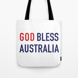 God Bless Australia Tote Bag