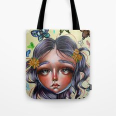 Chrysalis and Butterflies  Tote Bag