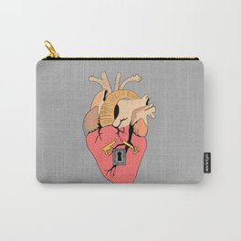 Locked heart Carry-All Pouch