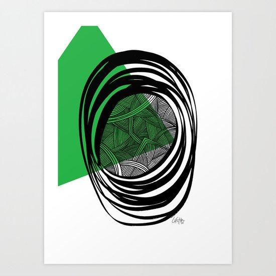 - plan b - Art Print