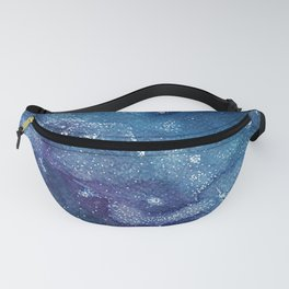 Starry Night - Watercolor Painting Fanny Pack