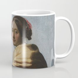 """Johannes Vermeer """"A Young Woman Seated at the Virginal"""" Coffee Mug"""