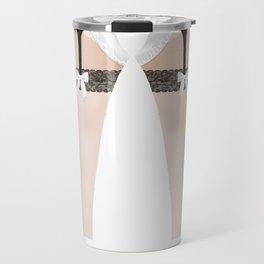 Lingeramas - Sexy French Maid Lingerie Legging Pajamas Travel Mug