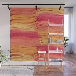 Warm Waves Wall Mural