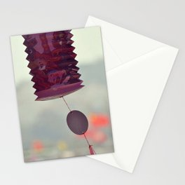 Romantic Lantern Stationery Cards
