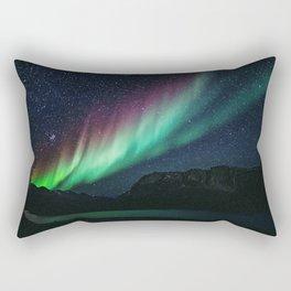 Aurora / Northern Lights II Rectangular Pillow