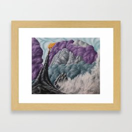 No. 6, Mt Kinabalu Framed Art Print