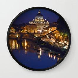 Sant Peter's Church in Rome Wall Clock