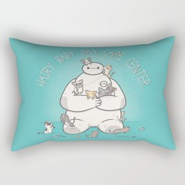 Hairy Baby Day Care Center Rectangular Pillow