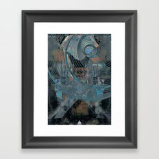 madmen all say they hear voices Framed Art Print