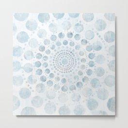 mandala dots /Agat/ Metal Print