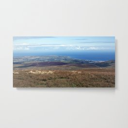 The Point of Ayre and Ramsey Metal Print
