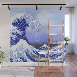 Surf's Up! The Great Wave Wall Mural