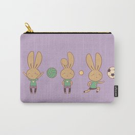Hazel Bunny Passion Carry-All Pouch