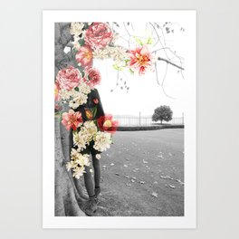 Poppy and Memory IV Art Print