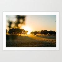 Malabad Sunset 2 Art Print