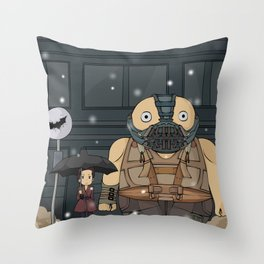My Neighbor Bane Throw Pillow