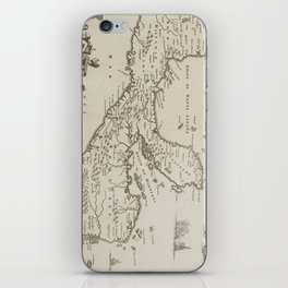 Vintage Central America Map (1671) iPhone Skin