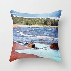 Lake Superior Bay Throw Pillow