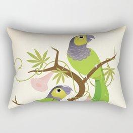 Black-capped conure Rectangular Pillow