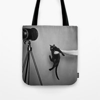 oz Tote Bags featuring Oz by Emily Mislak