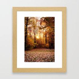 An Autumn Afternoon Framed Art Print