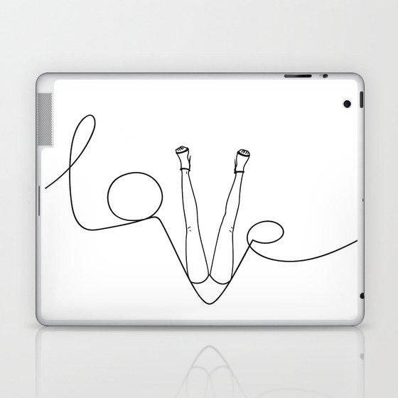 Man & LoveMe Laptop & iPad Skin