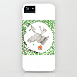 CHRISTMAS1 iPhone Case
