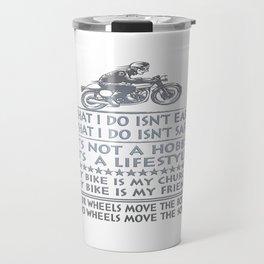 Biker Travel Mug