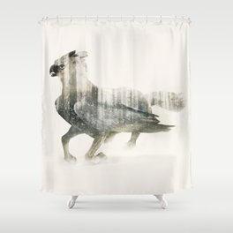 Hippogriff Shower Curtain
