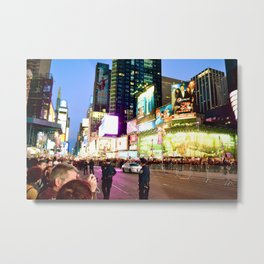 Glowing Ambitions Metal Print