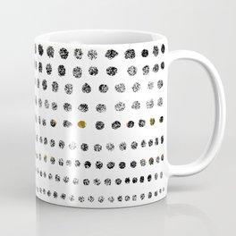 Black Dots II Coffee Mug