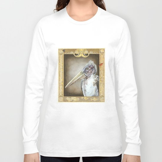 Grotesque - Marabou Stork Long Sleeve T-shirt