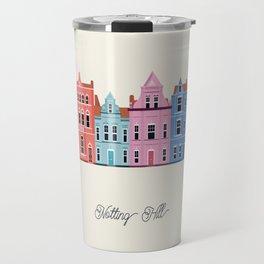 Vector Cities - Notting Hill Travel Mug