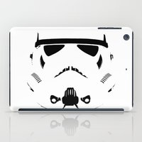 storm trooper iPad Cases featuring Storm Trooper by WaXaVeJu