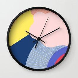 Rainy Sunny Friday Morning Wall Clock