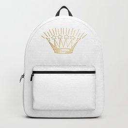 Golden Shining Star Crown Backpack