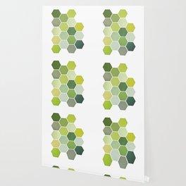 Shades of Green Wallpaper