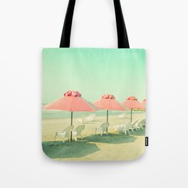 Pink Row I Tote Bag