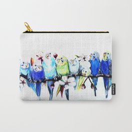 Bloomin' Budgies Carry-All Pouch