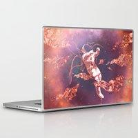 astronaut Laptop & iPad Skins featuring Astronaut by Marianne Bousquet