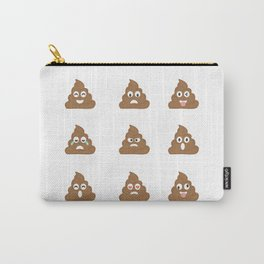 Poop emoji Carry-All Pouch
