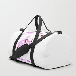 Stay Calm And Love Your Pet Duffle Bag