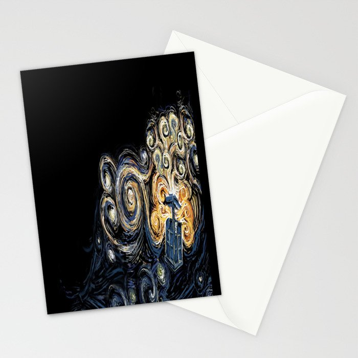 Doctor Who Van Gough Stationery Cards