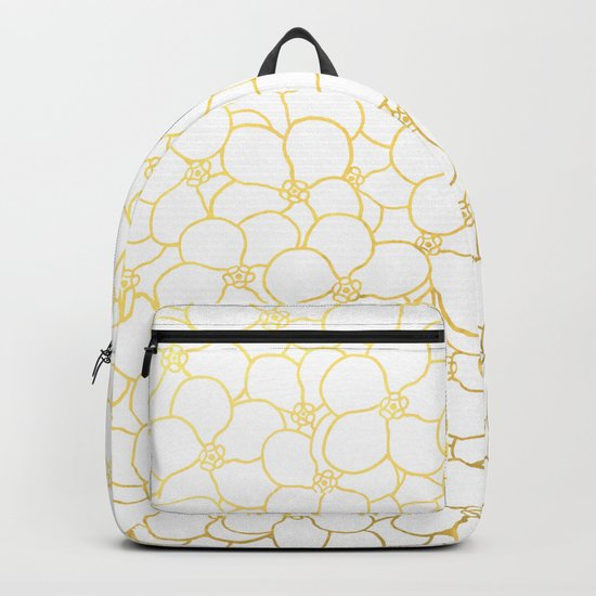 Forget Me Knot White Gold Backpack