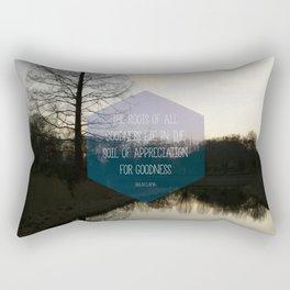 Roots Artprint Rectangular Pillow